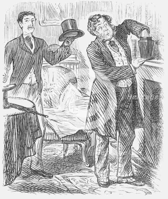 'Cremation', 1875. Artist: Joseph Swain