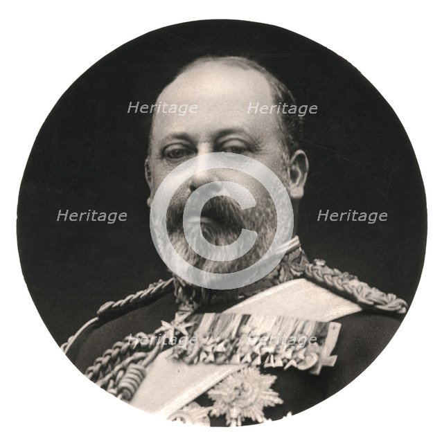 King Edward VII, 20th Century.Artist: Rotary Photo