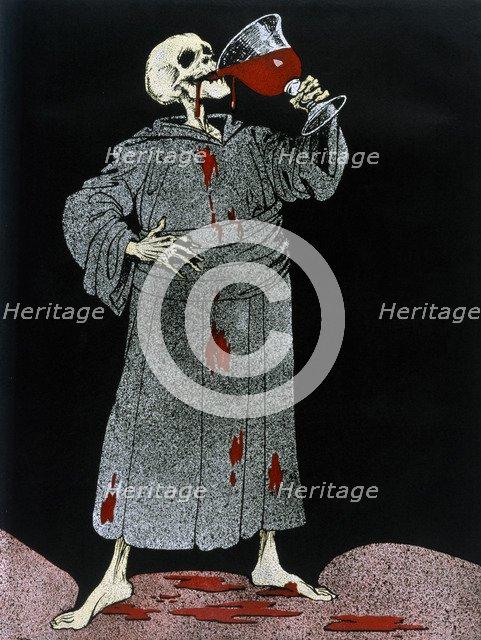 'To Your Health, Civilisation!', 1916. Artist: Louis Raemaekers