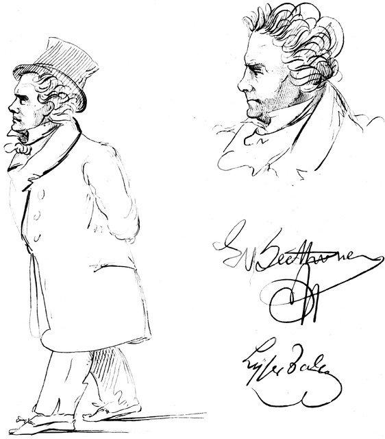 Ludwig van Beethoven (1770-1827), German composer. Artist: Unknown