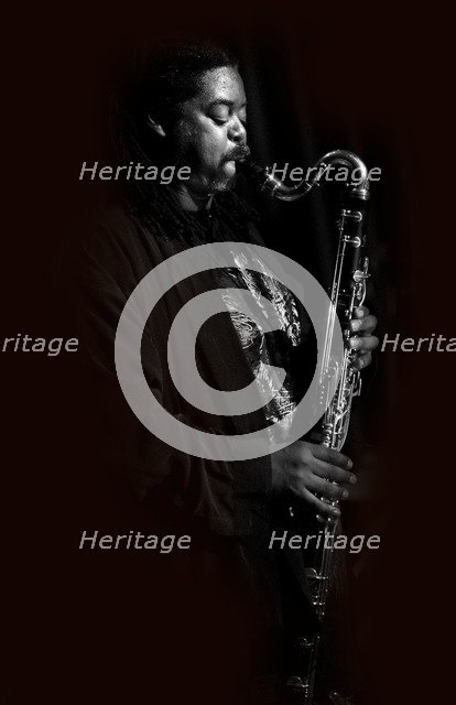 Courtney Pine, 2010. Artist: Alan John Ainsworth.