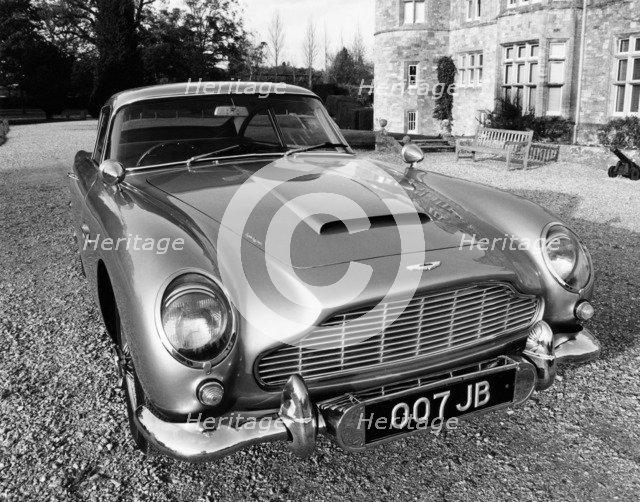 James Bond's Aston Martin DB5, used in the film Goldfinger, (c1964?). Artist: Unknown