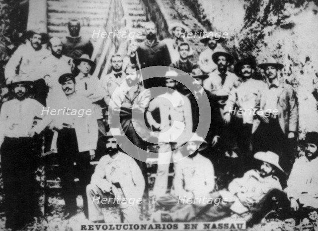 Cuban revolutionaries in Nassau, (1895), 1920s. Artist: Unknown
