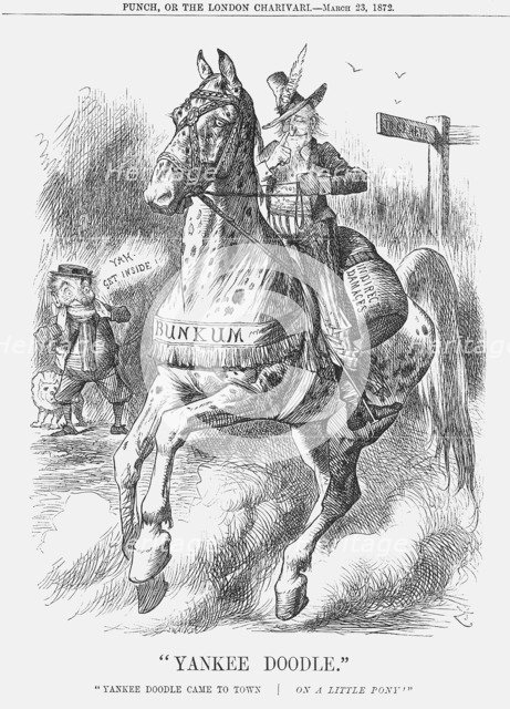 Yankee Doodle, 1872. Artist: Joseph Swain
