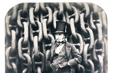 Thumbnail image of Isambard Kingdom Brunel, British engineer, 1857. Artist: Robert Howlett