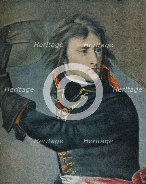'Bonaparte at Arcole', 1797, (1896). Artist: Unknown.