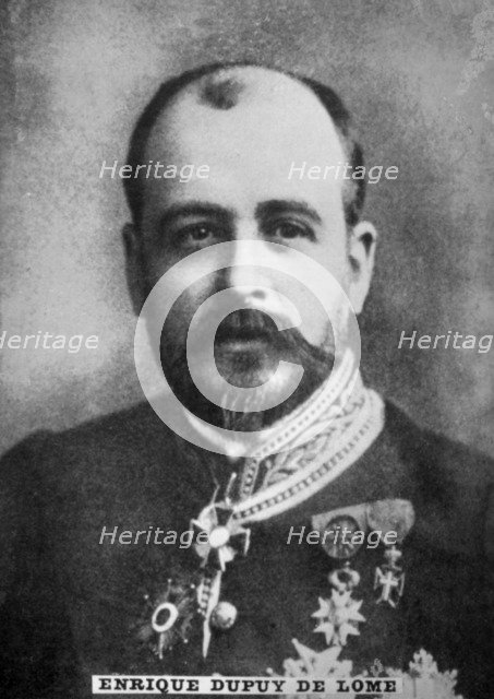 Enrique Dupuy de Lome, (1851-1904), 1920s. Artist: Unknown