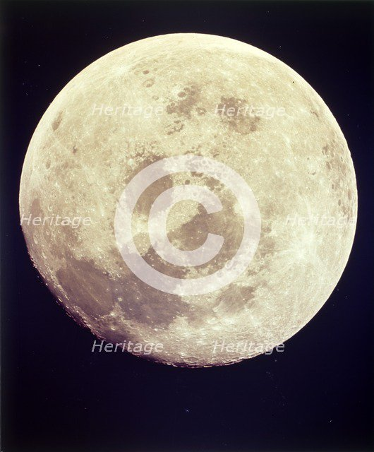 The Moon, Apollo II mission, July 1969. Creator: NASA.
