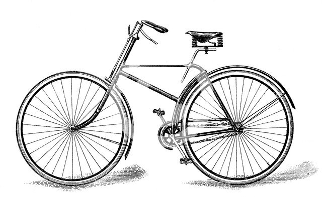 Singer's special safety bicycle, c1886 (1890). Artist: Unknown