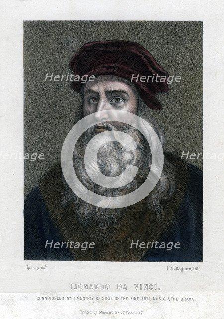 Leonardo da Vinci, (1452-1519).Artist: H C Maguire