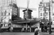 Thumbnail image of The Moulin Rouge, Paris, 1931. Artist: Ernest Flammarion