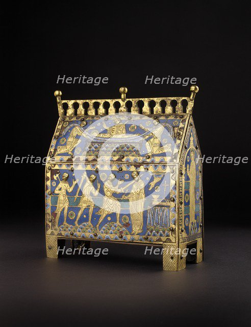 Chasse [or reliquary], c1190. Artist: Unknown.