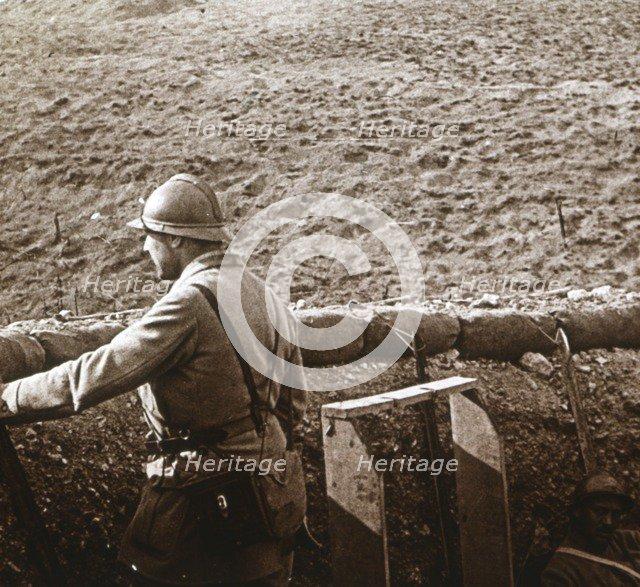 Damloup battery, Verdun, northern France, c1914-c1918. Artist: Unknown.