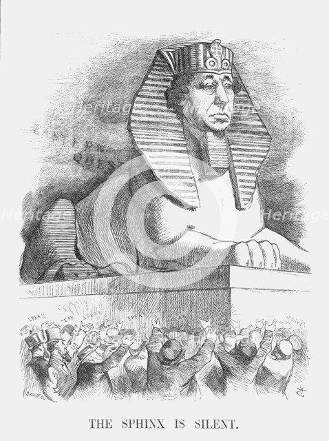 'The Sphinx is silent', 1876. Artist: Joseph Swain