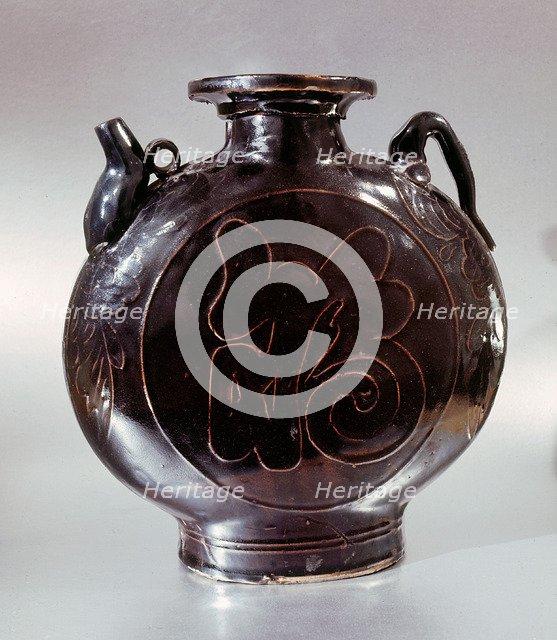 Blackware jar.