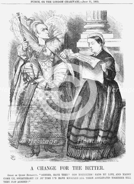 'A Change for The Better', 1869. Artist: Joseph Swain