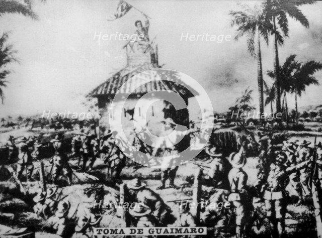 Invasion of Guaimaro (1873), 1920s. Artist: Unknown
