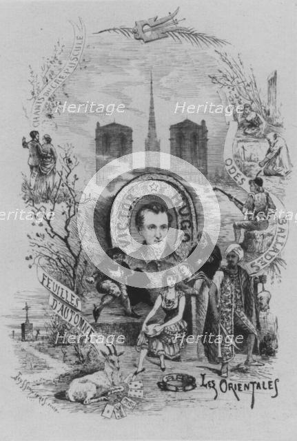 Victor Hugo, 19th century.  Creator: Pierre Teyssonnières.