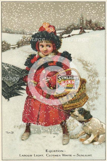 Trade card for Sunlight Soap, c1900. Artist: Tom Browne