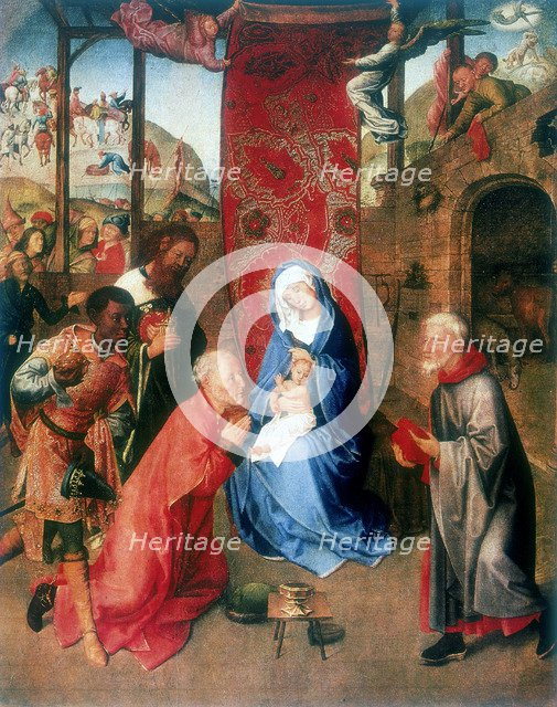'The Adoration of the Magi', 15th century. Artist: Hugo van der Goes