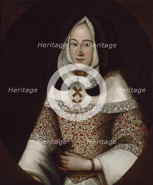 Jane, first Wife of John Tradescant the Younger, c1630. Artist: Unknown.