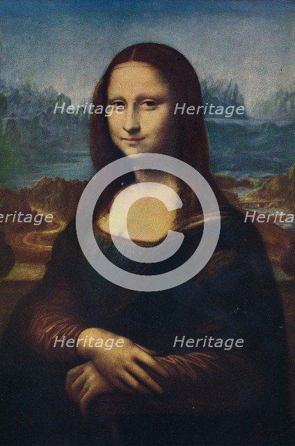 'Mona Lisa', c16th century, (1911). Artist: Unknown.