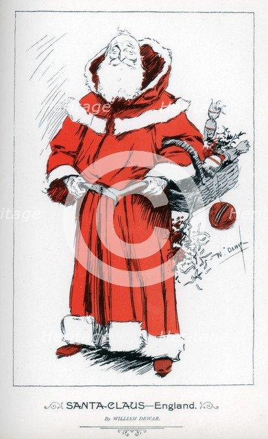 'Santa Claus - England', 1895. Artist: William Dewar