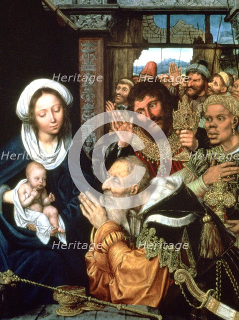 'The Adoration of the Magi', 1526. Artist: Quentin Metsys I