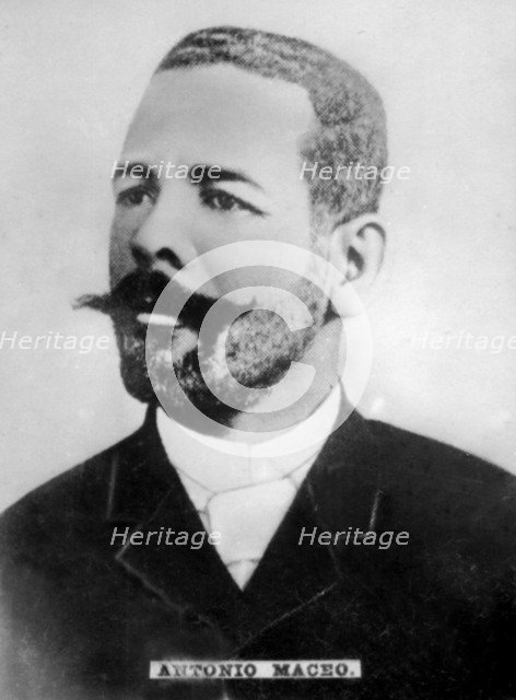 Lt. General Jose Antonio Maceo Grajales (1845-1896), Cuban Army of Independence, c1910. Artist: Unknown