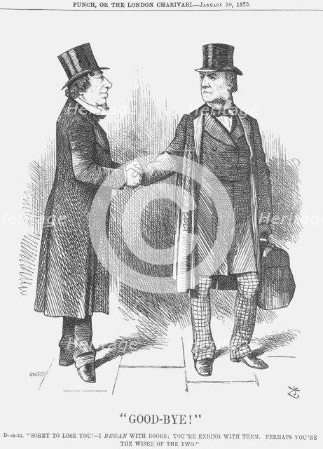 Good-Bye !, 1875.  Artist: Joseph Swain