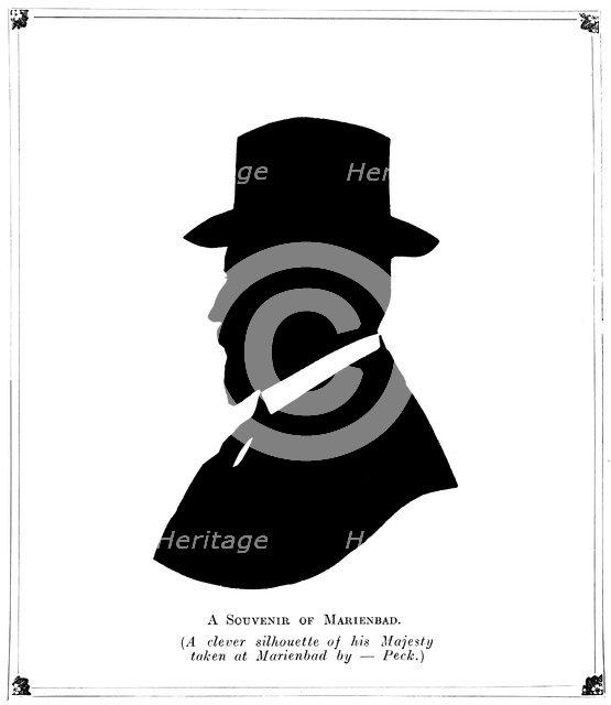 'A Souvenir of Marienbad', 1910.Artist: Peck