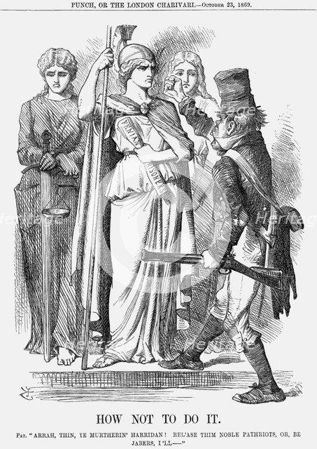 'How Not To Do It', 1869. Artist: Joseph Swain