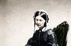 Thumbnail image of Florence Nightingale, English nurse and hospital reformer, 1854. Artist: Unknown