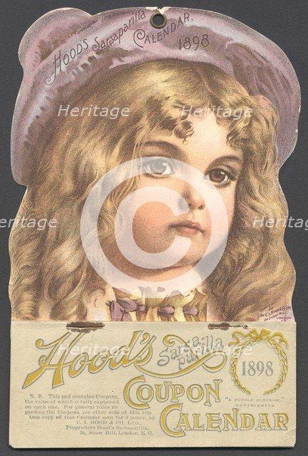 Hood's Sarsaparilla, 1898. Artist: Unknown