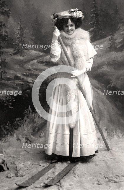 Gertie Millar (1879-1952), English actress, 1906.Artist: Foulsham and Banfield