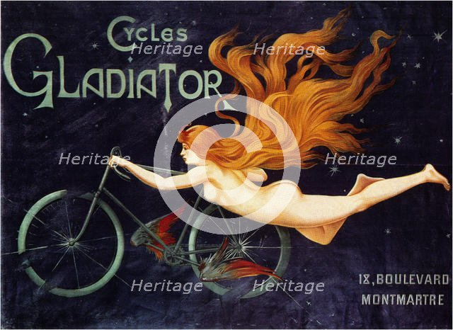 Gladiator Cycle Company, 1905. Artist: Massias, Georges (active ca 1900)