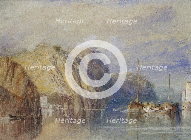 Between Clairmont and Mauves, 1826-1830. Artist: JMW Turner.