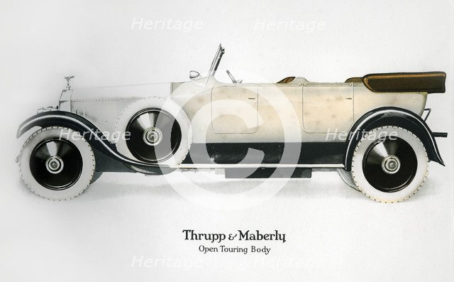 Rolls-Royce with open touring body, c1910-1929(?). Artist: Unknown