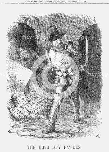 'The Irish Guy Fawkes', 1880. Artist: Joseph Swain