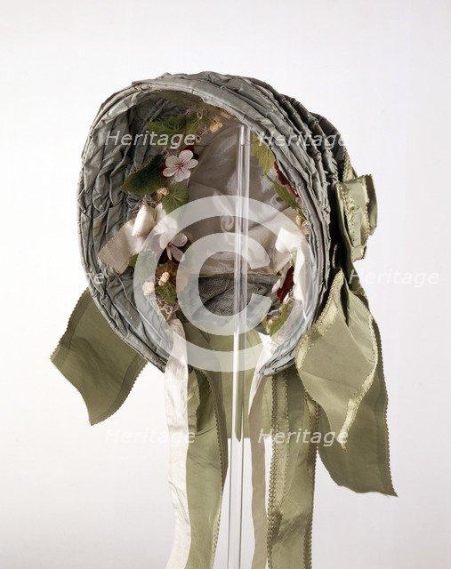 Bonnet worn by Queen Victoria, c1850-c1860. Artist: Unknown