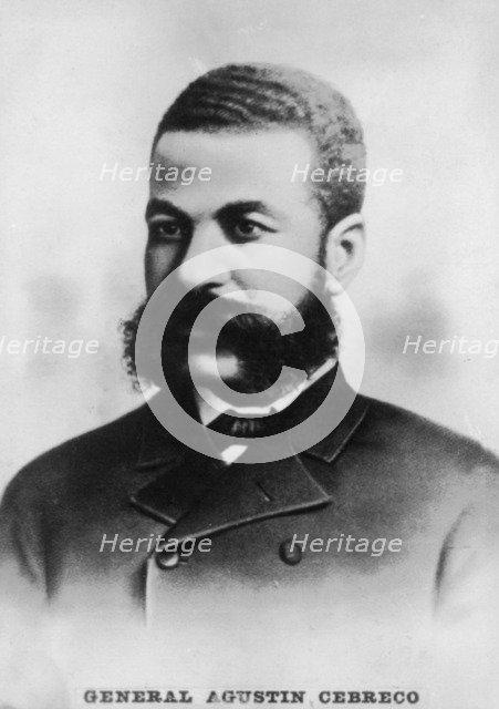 General Agustin Cebreco, c1910. Artist: Unknown