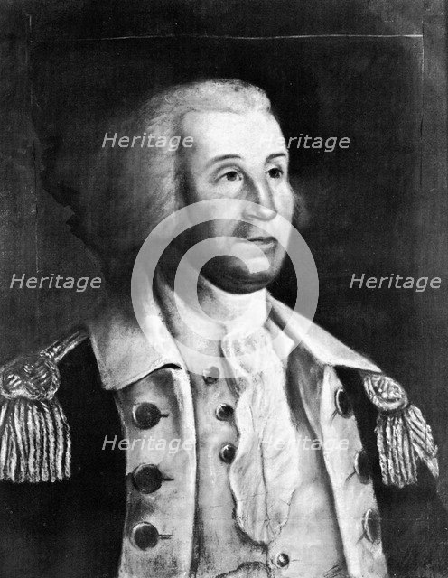 George Washington, the first President of the United States, (late 18th-early 19th century).Artist: William Dunlap