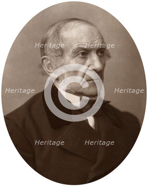 William Ewart Gladstone MP, British Liberal Prime Minister, 1882.Artist: Lock & Whitfield