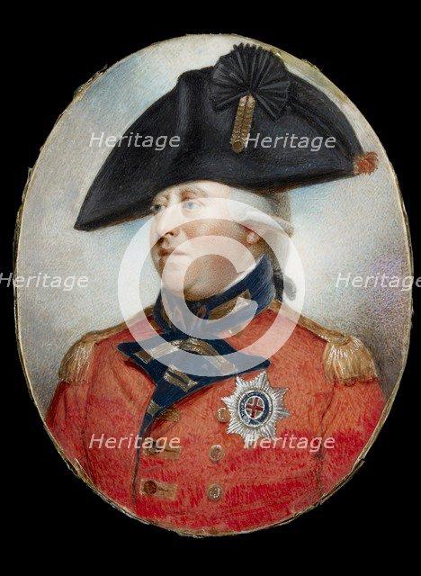 Portrait of King George III, 18th century. Artist: Unknown.