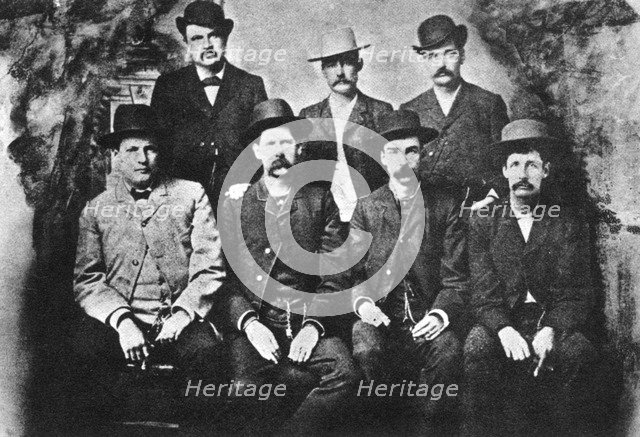 The Dodge City Peace Commission, 1883 (1954). Artist: Unknown