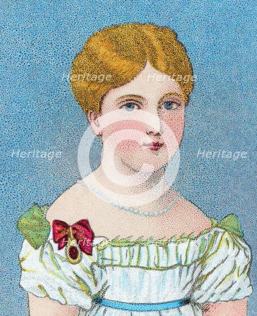 'Young Queen Victoria, then Princess Alexandrina Victoria of Kent', c1829 (c1902). Artist: Unknown.