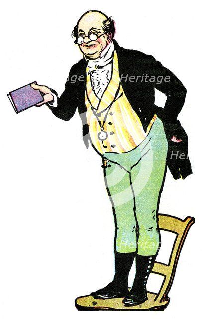 Mr Pickwick, from The Pickwick Papers by Charles Dickens, 1912. Artist: Unknown