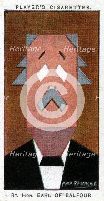 Arthur James Balfour, 1st Earl of Balfour, 1926.Artist: Alick P F Ritchie