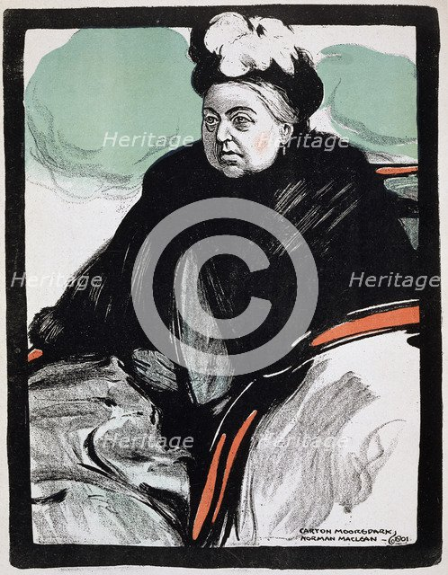 Queen Victoria, 1901. Artist: Unknown