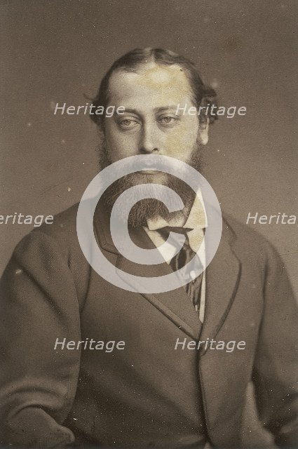 Edward, Prince of Wales, 1880s. Artist: Unknown